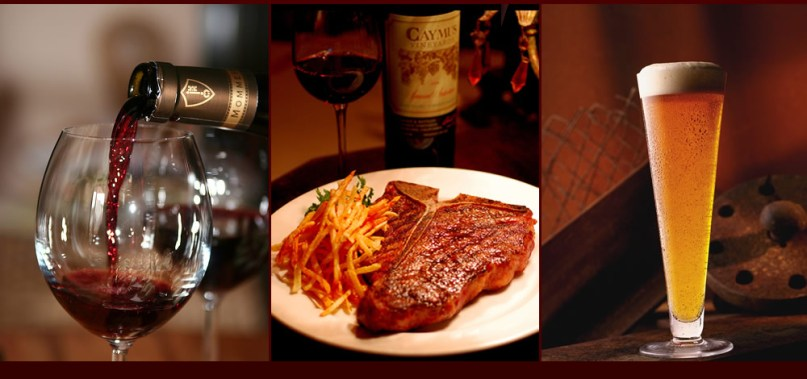 The Park Steakhouse in Park Ridge is a popular spot for fine food and drink