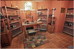 Bergen County Luxury Wine Cellar
