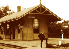 Maywood Station