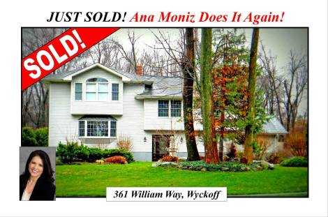 bergen county just sold real estate