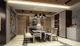 how to furnish a dining room