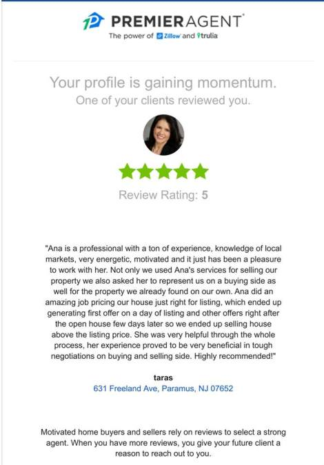 ana moniz realtor reviews