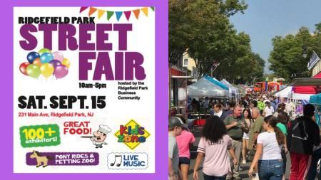 ridgefield park street fair